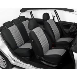 CLASSIC Style LUX szary uniwersalne pokrowce na fotele samochodowe