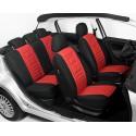 CLASSIC Style LUX czerwony uniwersalne pokrowce na fotele samochodowe