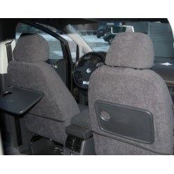 VW Touran I FL (2006-2010) welur pokrowce samochodowe