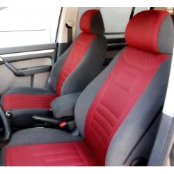 Toyota Hilux VII (2005-2015) pokrowce samochodowe welur