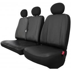 Bus Eko 2+1 skórzane pokrowce na fotele samochodowe uniwersalne