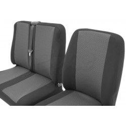 Bus mozaika 2+1 pokrowce na fotele samochodowe uniwersalne