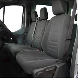 Welur Citroen Jumper I FL (2002-2005) 2+1 pokrowce na fotele samochodowe