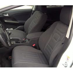 Toyota Corolla E16 XI (2012-dziś) pokrowce samochodowe welur