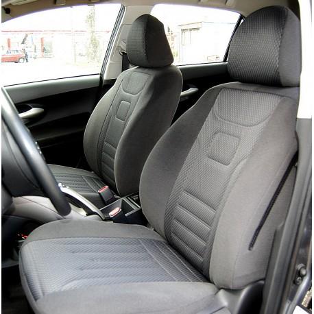 Toyota Auris I Wzór KRESKA szara