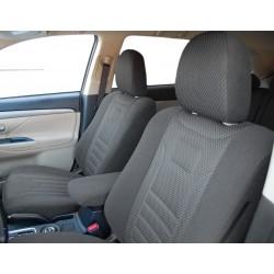 Skoda SuperB 2 (2008-2015) pokrowce samochodowe welur