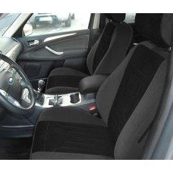 Ford S-Max I (2006-2015) Gofr czarny przód
