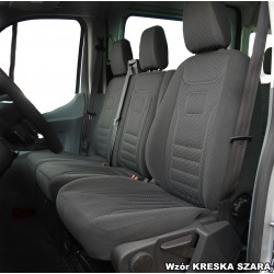 Ford Transit VII (2006-2013) 2+1 3-ka pokrowce welurowe