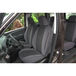Fiat Doblo II (2009-dziś) welurowe pokrowce